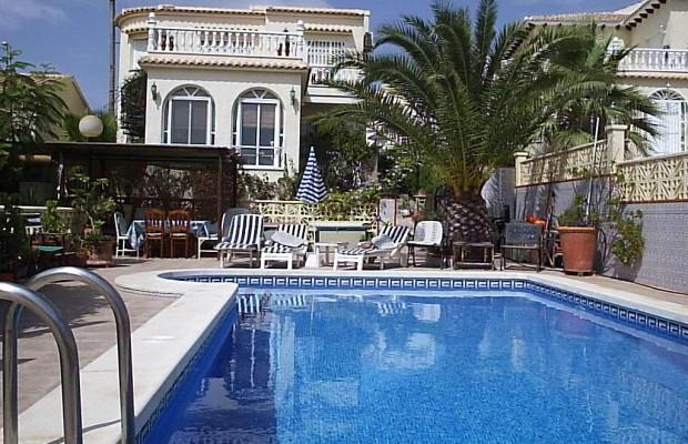 Private 8 x 4 Pool and extensive patio area.