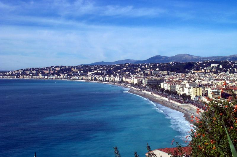 Nice and the Mediterranean