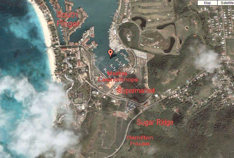 Google Map of Jolly Harbour