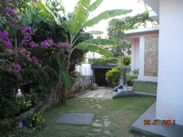 Garden of the house