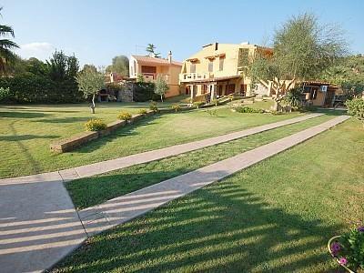 Chia, villa mediterraneo, casa vacanza a Domus de Maria