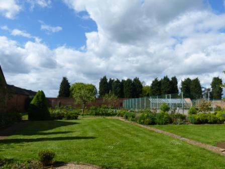 Enjoy the walled garden