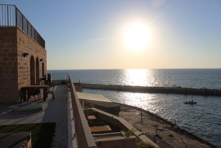 The Terrace - Sea View 180 degree to Jaffa Port and Tel Aviv
