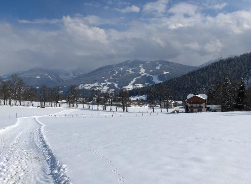 The langlauf pistes pass within 10m of the house, giving direct access to the piste network