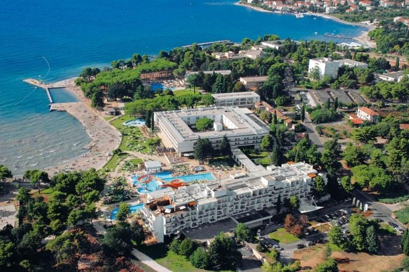 Borik, hotel beach