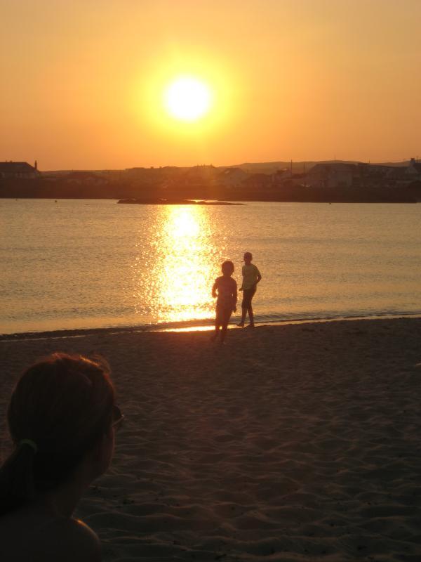 Sunset Trearddur Bay