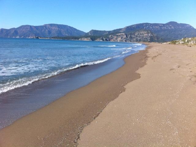 The stunning nearby Iztuzu beach - 20th best in the world