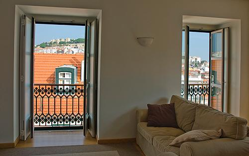Fantastic view from living room