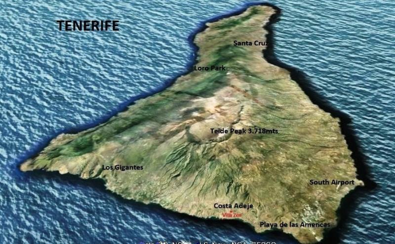 En la mejor ubicación en el sur de Tenerife. zona de Costa Adeje