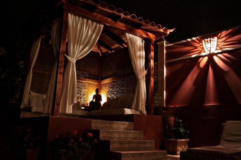 Villa Zen at night