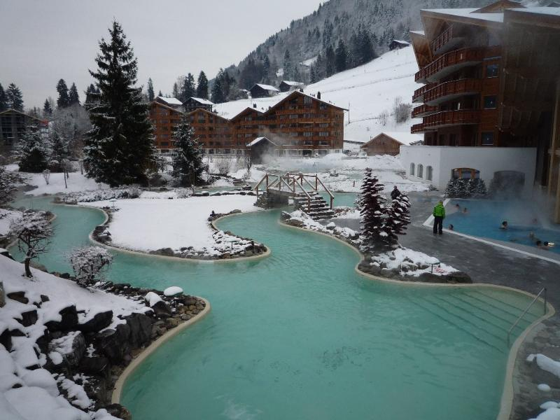 Thermes Parc Spa Resort, aluguéis de temporada em Champoussin