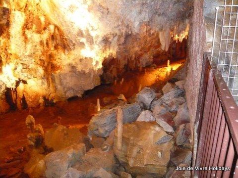 La grotte géante à Cabrespine - une belle journée !