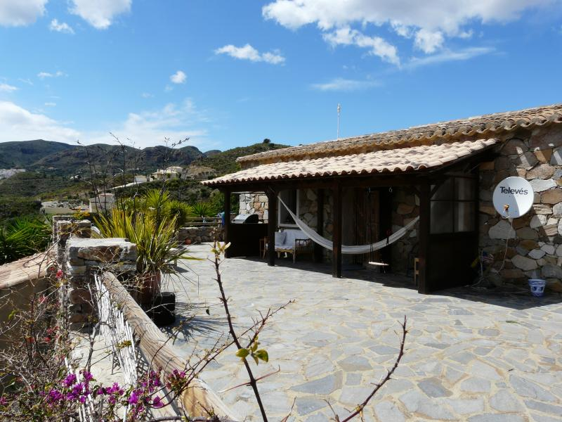 Stone Cottage with private pool, holiday rental in Arboleas