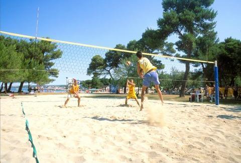 Volleyball at Borik beach