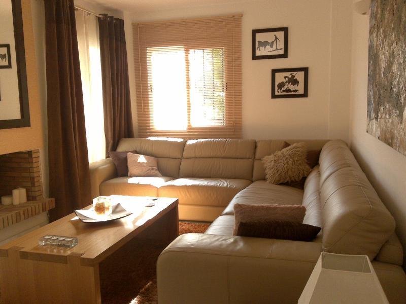 Comfortable, spacious lounge