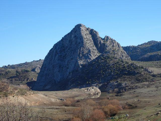 Tavizna Mountain on a winter day