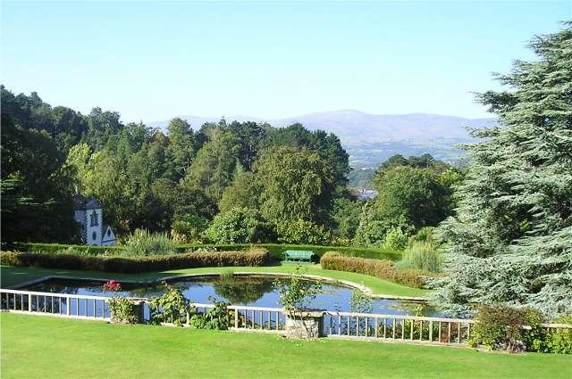 Bodnant Gardens - well worth visiting and located nearby