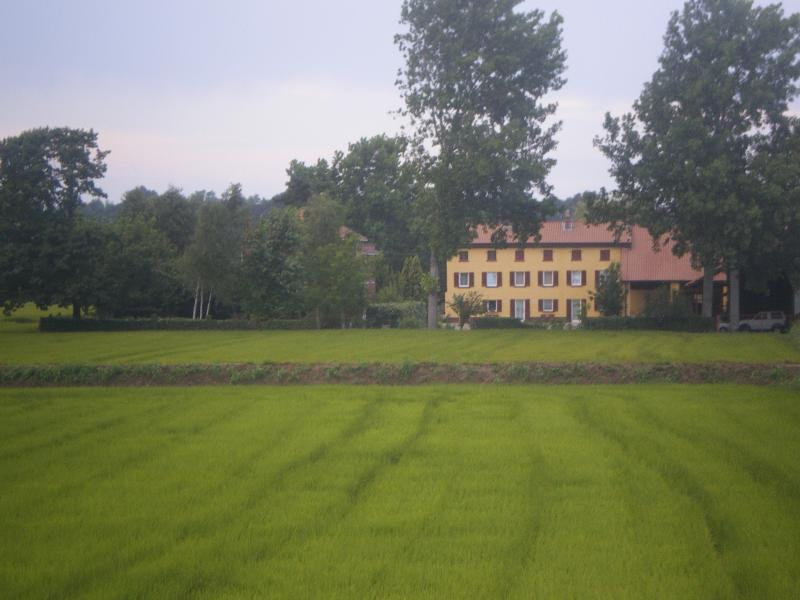 Italy, lombardy,pavia,farmhouse,La Cicogna
