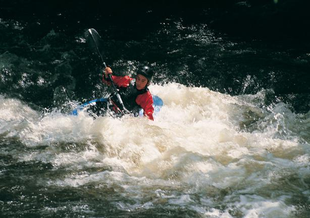 Enjoy some canoeing at Betws y Coed, 2 miles from your cottage