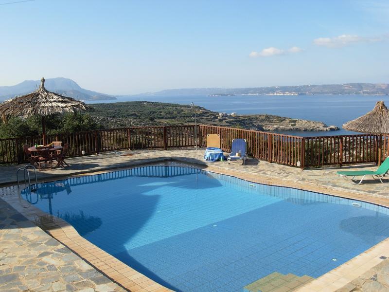 Villa Kali Zoe Swimming Pool and Panoramic Sea View