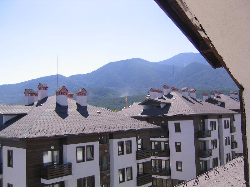 Mountain View from Balcony