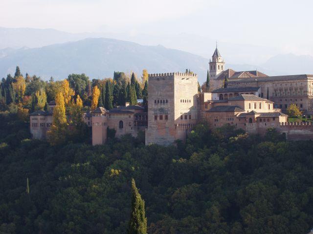Granada está a una hora de viaje