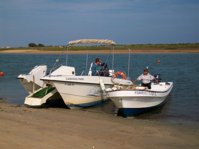 Ferries to beach