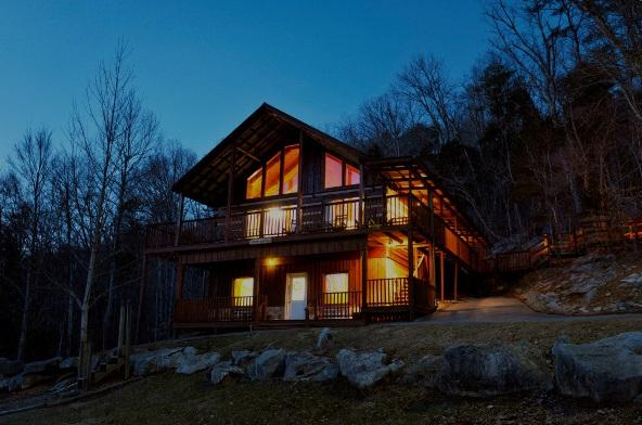 Family 4/3.5 cabin in the Smokies - Deer Lodge, vacation rental in Townsend