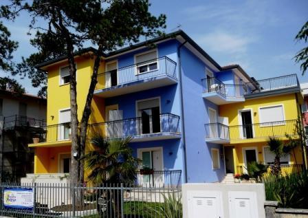 esterno appartamenti Residence Amarein