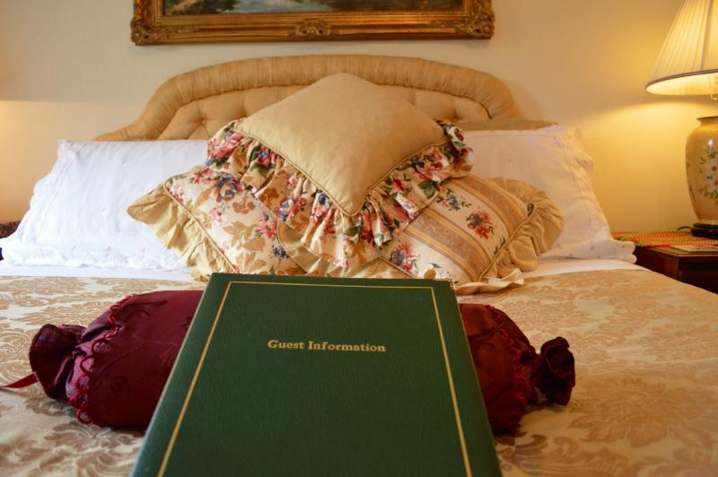 Guest information book