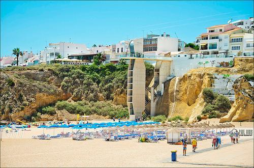 Nearest beach Peneco 2 min walk with glass panoramic elevator