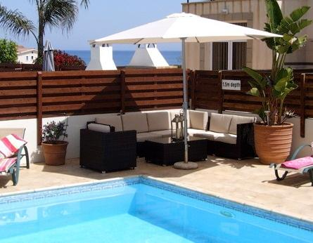 Villa Chloe Protaras by the Sea with WIFI, holiday rental in Protaras