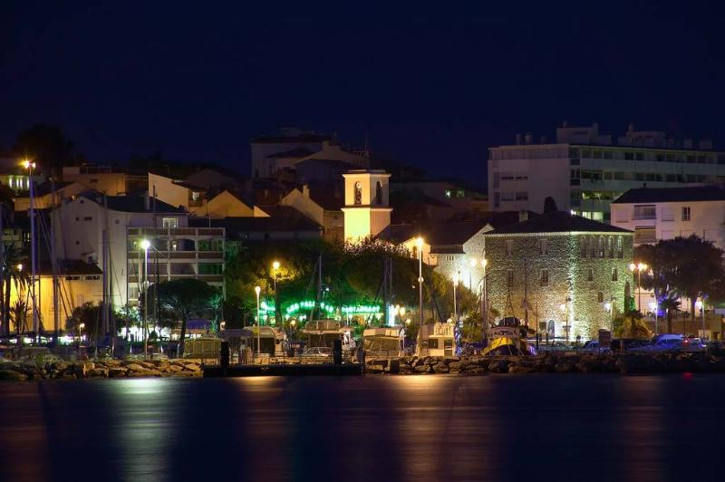 Ste Maxime town by night