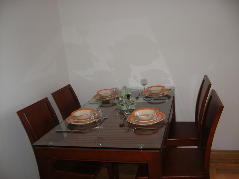 Dining Table Set for Meal