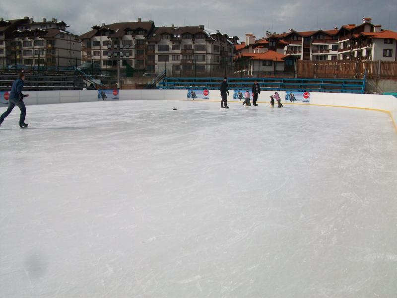 Ice Rink    600 metres from apartment
