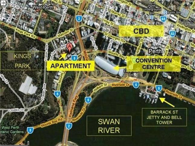 Centrally located near CBD, convention centre, train station, bus station