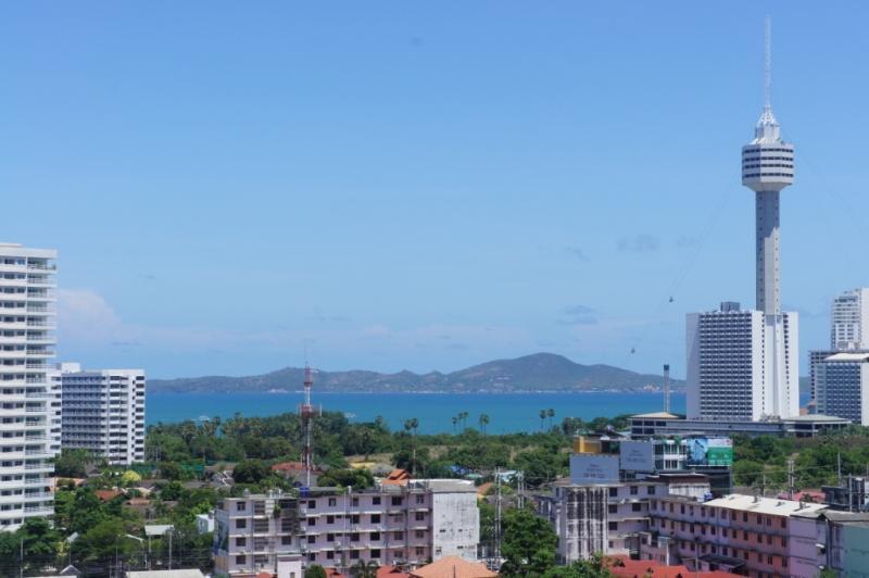 View of Koh Lan Island & Sea