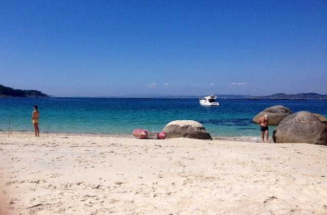 playa de areabrava. hio cangas