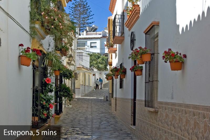 Estepona town centre old area