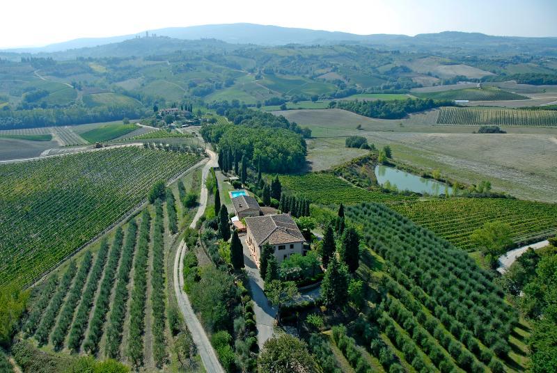 Podere Remignoli Apt Luna, vakantiewoning in Ulignano