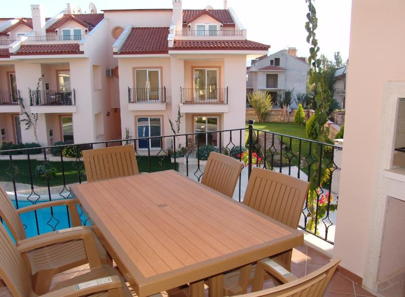 Breakfast at balcony