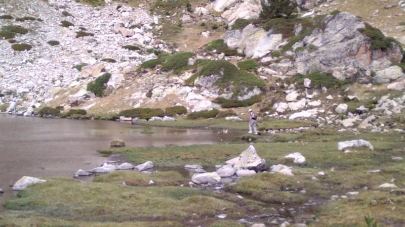 El lago de La Pera