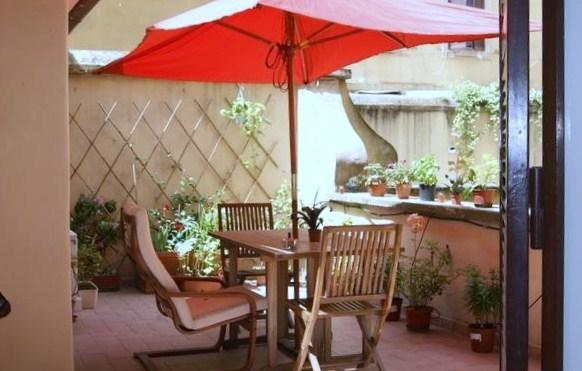 our terrace