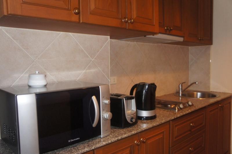 Microwave, Toaster & Kettle