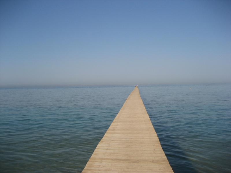 Pier walk at Zeytouna to snorkel on the reef and coral