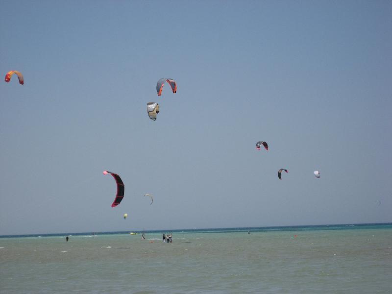 Kite surfing el gouna style
