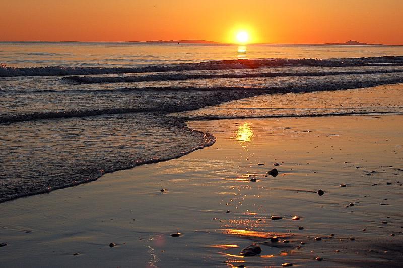 Sunset on midsummers night 2014