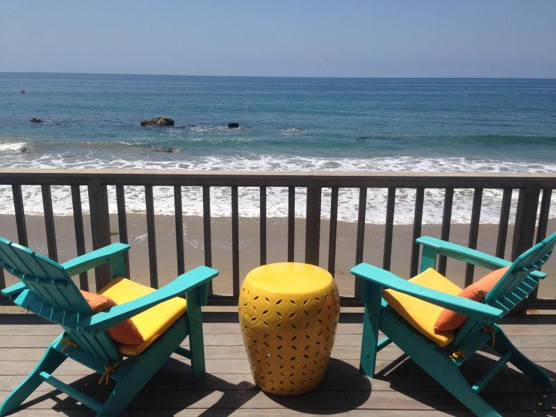 Malibu Oceanfront 3bd/2ba on the SAND!, holiday rental in Malibu