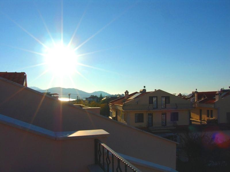 View from one of the 2 attic terraces