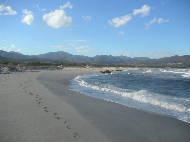 Budoni Beach looking North